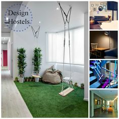 #Design Hostels Around the World by HostelBookers