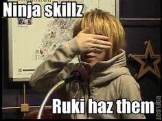 Hey guys I think I found him!!! Ruki funny gazette jrock
