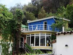 Casa museo La Chascona Pablo Neruda - Chile...he is so eclectic, and always drawn to the ocean.