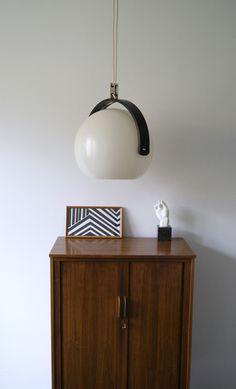 60er Jahre Temde Lounge Kugelpendelleuchte von mele-pele auf DaWanda.com