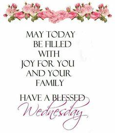 ... ♥ Blessings