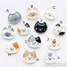 Nyanko earrings / earrings to choose Diy Resin Crafts, Cat Crafts, Diy Clay, Diy And Crafts, Shrink Plastic Jewelry, Shrink Art, Clay Baby, Polymer Clay Animals, Resin Charms