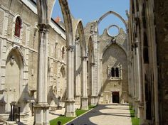 Ruinas do carmo , Lisboa