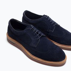 Image 5 of BROGUE WITH WEDGE from Zara