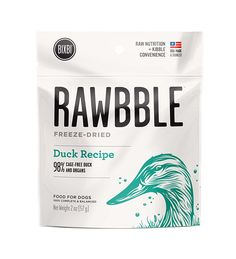 BIXBI Rawbble All-Natural Freeze Dried Dog Food *** Startling review available here  (This is an amazon affiliate link. I may earn commission from it)