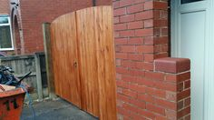New gates - one coat of ronseal 5 year woodstain