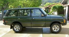 1995 Range Rover Classic LWB (@Davidson Mizelle, after the jeep dies?)