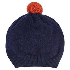 6c2bfde25c460 Jigsaw Shona Contrast Knit Pom Pom Hat at John Lewis   Partners