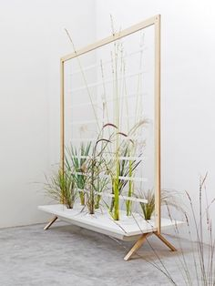 patrick nadeau modern plants It could used as a screen to separate different parts of the retail design concept.