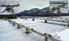 Is this the most dangerous vehicle bridge in the world?