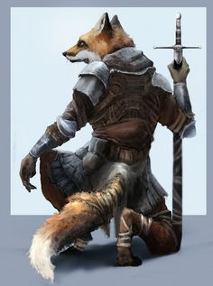 Vulpe the Fox Fox Character, Fantasy Character Design, Character Portraits, Character Concept, Character Inspiration, Fox Fantasy, Fantasy Races, Fantasy Art, Dungeons And Dragons Characters