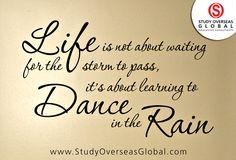 #StudyOverseas #DanceInTheRain #MondayMotivation