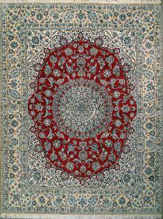 """Nain Persian Rug, Buy Handmade Nain Persian Rug 8' 6"""" x 11' 3"""", Authentic Persian Rug $4,131.00 STUNNING"""