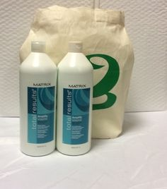 Matrix Total Results Bundle: Matrix Total Amplify Volume Shampoo, Conditioner Liter and Natural Cotton Tote *** This is an Amazon Affiliate link. Read more at the image link.