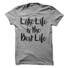 Lake Life Is The Best Life Tshirt Camping by LuckyMonkeyTees