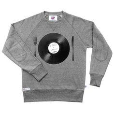 Pullover Tasty Beats Grau, 35€, jetzt auf Fab.