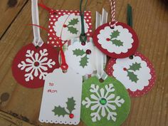 Posts about handmade gift tags written by loricurie Diy Christmas Tags, Cricut Christmas Ideas, Company Christmas Cards, Simple Christmas Cards, Holiday Gift Tags, Handmade Christmas Gifts, Xmas Cards, Christmas Crafts, Gift Cards
