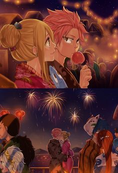 Ok, I've seen a lot of nalu pictures, but I have not seen this one...ITS ADORABLE! ❤️