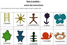Mes ateliers autonomes en pâte à modeler Quiet Time Activities, Preschool Activities, Grande Section, Plasticine, Play Doh, Imaginative Play, Ms Gs, Science Projects, Fine Motor Skills