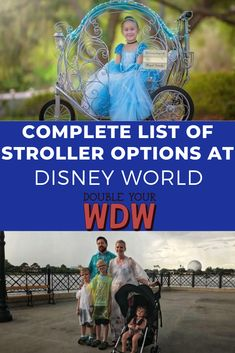 Learn all about the different stroller options at Disney World. What is the best stroller to bring to disney? How much does stroller rental cost? Find out how to save on strollers and what your options are for your Disney World vacation Disney World Vacation Planning, Disney World Parks, Walt Disney World Vacations, Disney Planning, Disney World Tips And Tricks, Disney Tips, Epcot, Hollywood Studios Disney, Strollers At Disney World