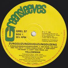 Yellowman - Zungguzungguguzungguzeng! (Label)