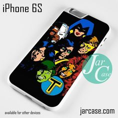 teen titans old style Phone case for iPhone 6/6S/6 Plus/6S plus