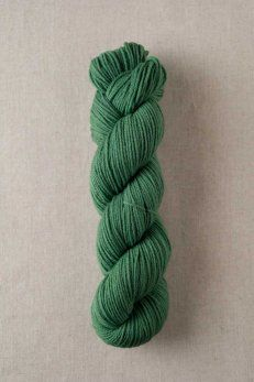 Quince & Co. Finch / American wool yarn, fingering weight (color parsley)