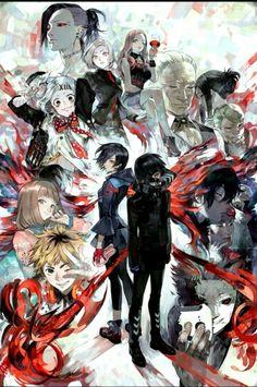 "Tokyo Ghoul ED2 - Amazarashi 『季節は次々死んでいく』 kisetsu wa tsugitsugi shindeiku ""Seasons die one after another"""