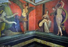 Pompeii's Villa of Mysteries restored and re-opened amid EU funding threat | Daily Mail Online