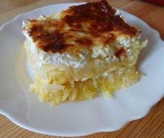 lagzis krumpli receptek, cikkek | Mindmegette.hu Coleslaw, Lasagna, Quiche, Macaroni And Cheese, Cake Recipes, Side Dishes, Bacon, Healthy Living, Food And Drink