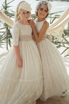 trendy children blog de moda infantil: LOS ARTISTAS EN PRIMERAS COMUNIONES: RUBIO KIDS