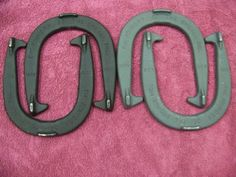 HTF-Foundry-Of-The-Shoals-4-Cast-Iron-Horseshoes-Set-Martin-Foundry-Florence-AL