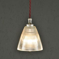 Vintage Style Prismatic Railway Pendant Light Micro Not on the High St Ceiling Pendant, Ceiling Lights, Vintage Industrial Lighting, Industrial Bedroom, Industrial Loft, Industrial Design, Small Pendant Lights, Vintage Wall Lights, Ceiling Rose