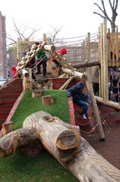 Adventurous Playgrounds in Camden, London, by Erect Architecture and Wayward - Playscapes