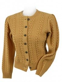Trachtenjacke / cabled cardigan