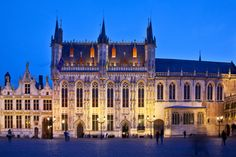 Stadhuis, Bruges, Netherlands used as the hall in Westminster in the filming of The White Queen