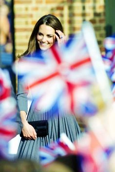 A perfect English rose, The Duchess of Cambridge flies the flag for Great Britain with  timeless elegance, demure and graceful.