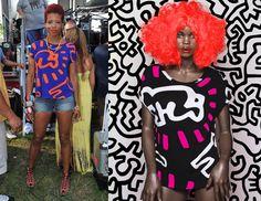 Kelis' Keith Haring x Patricia Field Icon Shirt Patricia Field, Keith Haring, Photo And Video, Modern, Shirt, Instagram, Fashion, Moda, Trendy Tree