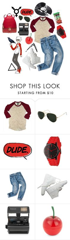 """dave strider"" by redpandas1 ❤ liked on Polyvore featuring PalmerCash, Ray-Ban, Olivia Pratt, Impossible, Identity, Tony Moly, Michael Kors and vintage"