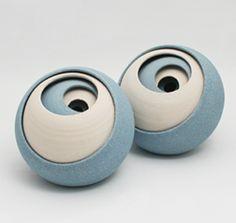 Matthew Chambers - lovely stoneware spheres