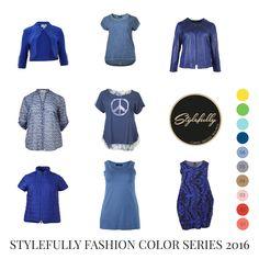 Zeigen Sie der Welt mit Snorkel Blue wie viel Elan maritime Farben ausstrahlen können. #SnorkelBlue #Plussize #Curves #GrosseGroessen #Fashion #Stylefully