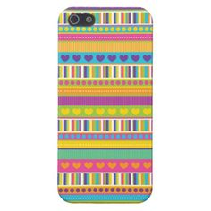 Colorful Patterns Cool iPhone 5 Cases for Girls