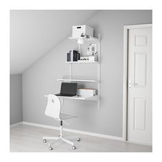 IKEA - ALGOT, Wandschiene/Böden, Die Teile der ALGOT Serie lassen sich vielseitig kombinieren und können so dem Bedarf und dem vorhandenen Platz angepasst werden.Auch für Badezimmer und andere Feuchträume im Haus geeignet.Konsolen werden einfach dort in ALGOT Wandschienen eingehängt, wo Böden und anderes Zubehör gewünscht wird - kein Werkzeug erforderlich.