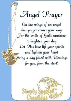 Related Pictures angel blessings poems and sayings with images Angel Protector, Archangel Prayers, I Believe In Angels, Angel Pictures, Angels In Heaven, Heavenly Angels, After Life, Prayer Board, Prayer Quotes