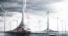 """Une Planète Plus Intelligente : """"Eoliennes et fermes solaires, l'urbain de demain"""