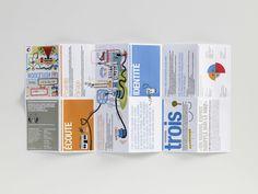 Dispositif éditorial pour Total
