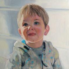 Santi, óleo sobre lienzo 60x60 cms