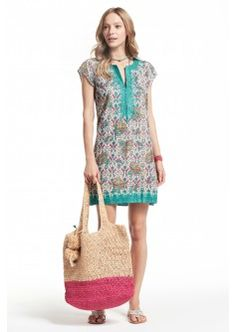 Ro Paisley Printed Cotton Voile Dress