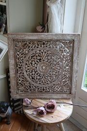 Prachtig houten wandpaneel van PTMD
