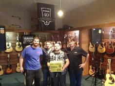 Doy was the lucky winner of a Yamaha THR5A at the 2015 Yamaha Guitar Workshop!